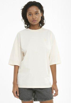 TEE KVINNA - Basic T-shirt - beige
