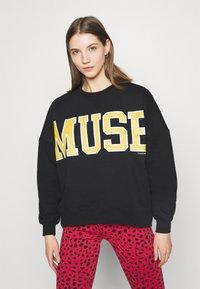 Colourful Rebel - MUSE DROPPED SHOULDER  - Sweatshirt - black - 0