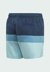 adidas Performance - COLORBLOCK SWIM SHORTS - Swimming shorts - blue - 1