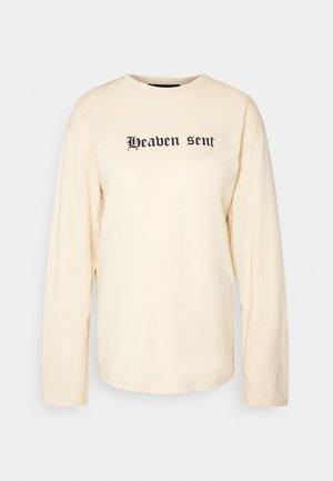 HEAVEN SENT  - Top sdlouhým rukávem - cream