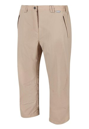 CHASKA CAPRI WANDER - Outdoor trousers - beige