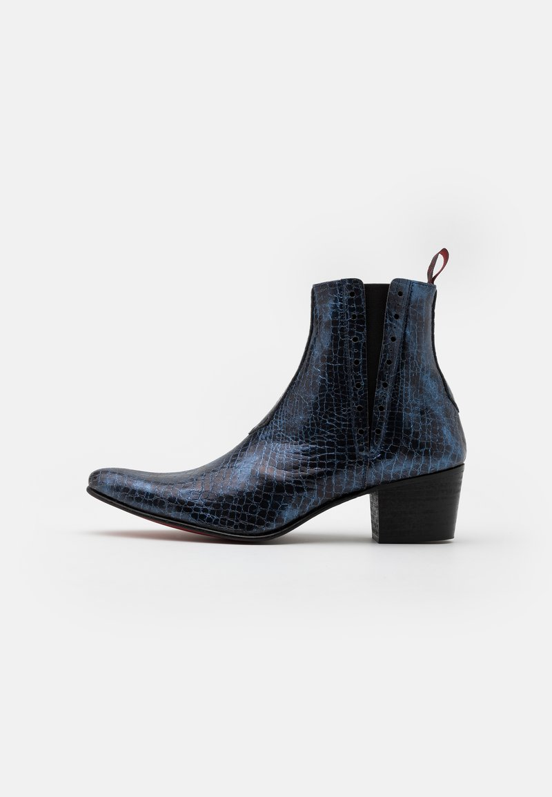 Jeffery West - VEGAN MURPHY CHELSEA - Cowboy/biker ankle boot - ocean