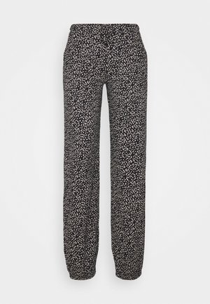 PANTS - Pyjama bottoms - schwarz