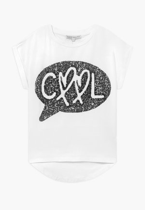 Camiseta estampada - black/ white