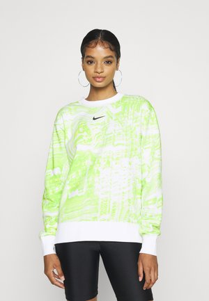 TREND CREW - Sweatshirt - white/light lemon