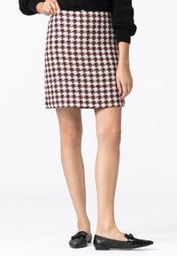 HALLHUBER - Pencil skirt - multicolor - 0