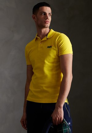 CLASSIC  - Polo - bright yellow twist