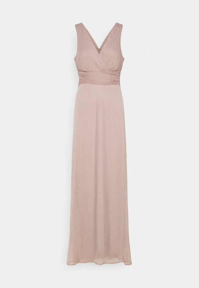 GOOD LOOKING DRAPY GOWN - Robe de cocktail - nougat