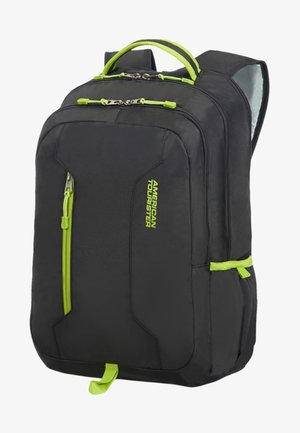 GROOVE - Rucksack - black/lime green