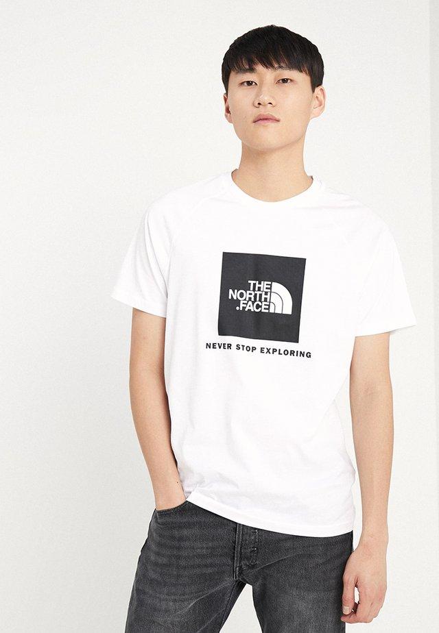 RAGLAN TEE  - T-shirt imprimé - white