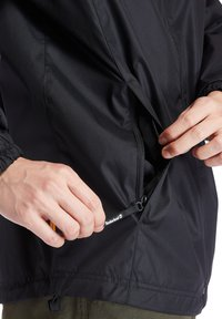 Timberland - WP HOODED SHELL - Waterproof jacket - black - 5