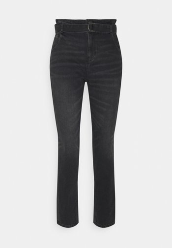 HIGHEST RISE MOM  - Slim fit jeans - smoked gray