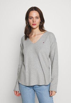 CATHY - Bluzka z długim rękawem - light grey
