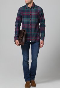 Wrangler - ARIZONA STRETCH - Straight leg jeans - burnt blue - 1