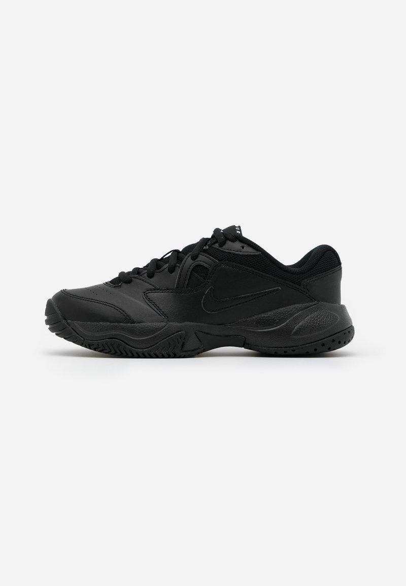 Nike Performance - COURT JR LITE 2 UNISEX - Multicourt tennis shoes - black