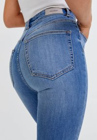 PULL&BEAR - Jeans Skinny Fit - light blue - 4