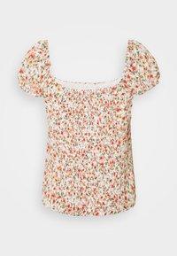 Forever New Petite - AMANDA SWEETHEART TIE FRONT - Print T-shirt - corsica - 1