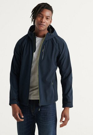 SOFTSHELL - Zip-up hoodie - navy