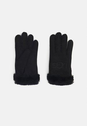 EMBROIDER GLOVE - Gloves - black