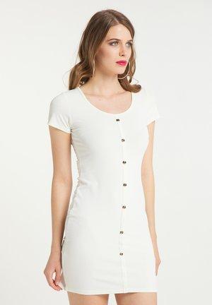 Jumper dress - weiss