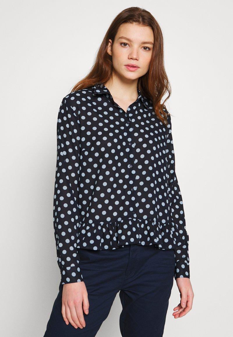 JDY - JDYRANTINI - Button-down blouse - navy blazer