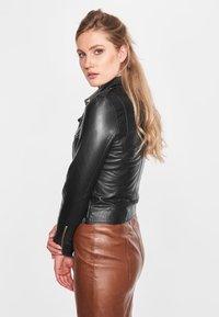 BTFCPH - EMMA - Leather jacket - black - 3