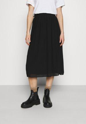 OBJZANIA SKIRT - A-line skirt - black