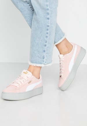 VIKKY STACKED - Trainers - rosewater/white