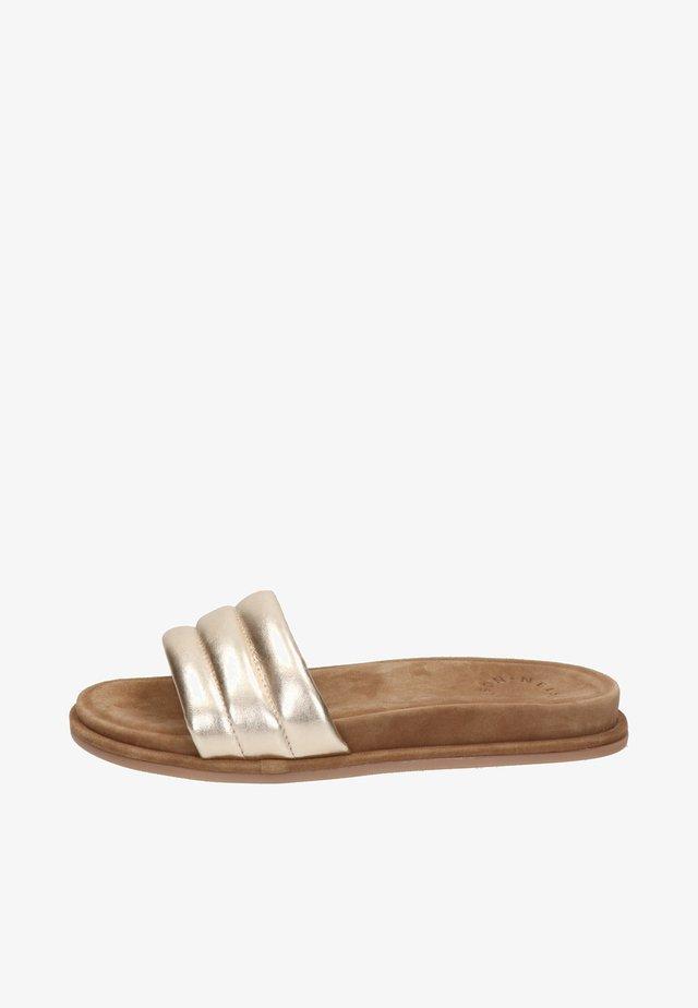 Pantoffels - goud