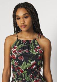 Pieces - PCMANURA STRAP DRESS - Sukienka letnia - black - 3