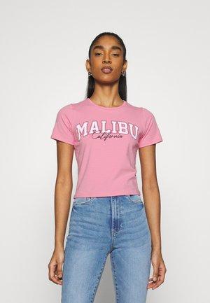 VINTAGE BABY TEE - T-shirt imprimé - neon pink
