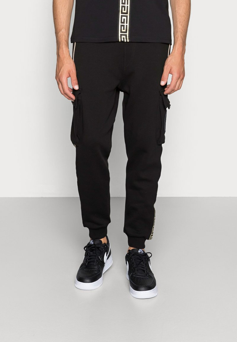 Glorious Gangsta - ALPHA JOGGER - Spodnie treningowe - black
