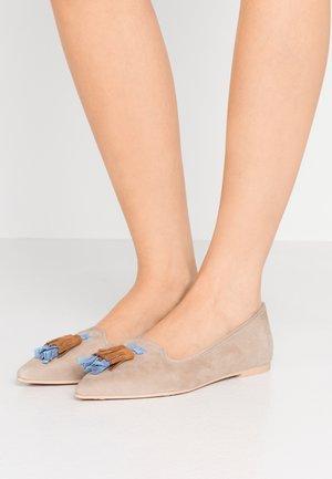 ANGELIS - Ballet pumps - safari/coco