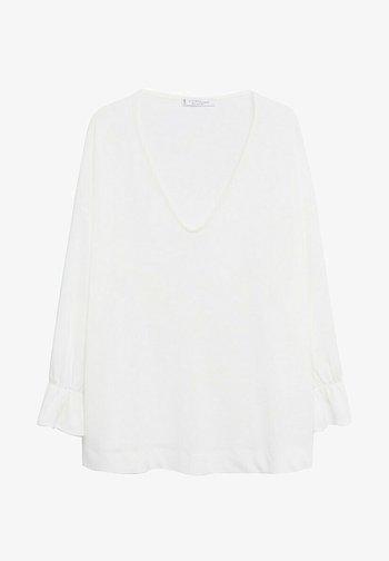 SABRINA - Long sleeved top - cremeweiß