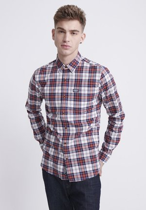 SUPERDRY WORKWEAR LITE LONG SLEEVE SHIRT - Skjorta - white