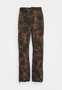Wood Wood - HAMISH TROUSERS - Cargo trousers - khaki - 0