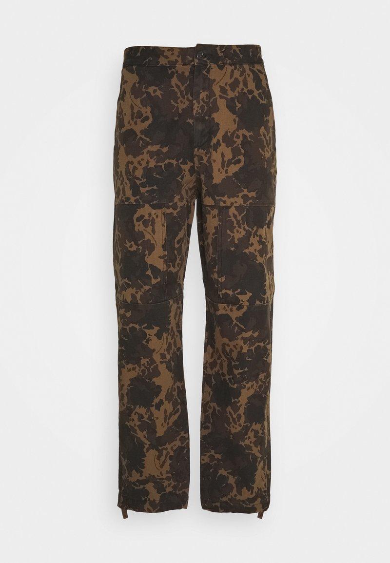 Wood Wood - HAMISH TROUSERS - Cargo trousers - khaki