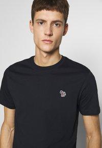 PS Paul Smith - SLIM FIT ZEBRA - Basic T-shirt - navy - 3
