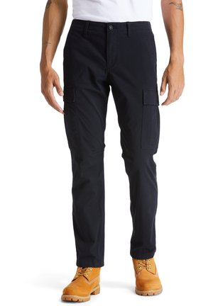 CORE - Cargo trousers - black