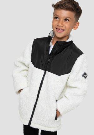 JACKE BORG - Krátký kabát - white, black