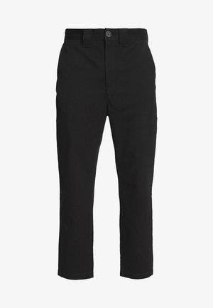 TILO TROUSERS - Trousers - black