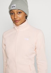 The North Face - WOMENS GLACIER FULL ZIP - Fleece jacket - morning pink - 4