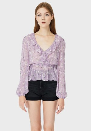MIT PRINT - Blouse - purple