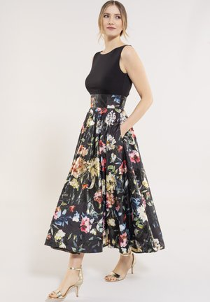 Day dress - black / multi