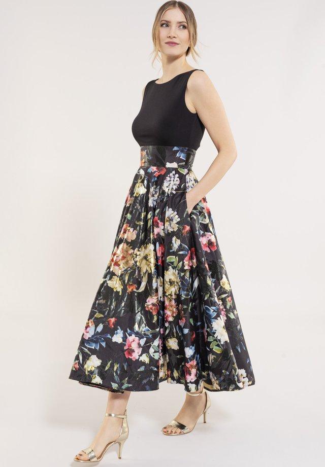 Korte jurk - black / multi