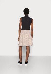 Moss Copenhagen - FIANNA SKIRT - A-line skirt - sand - 2
