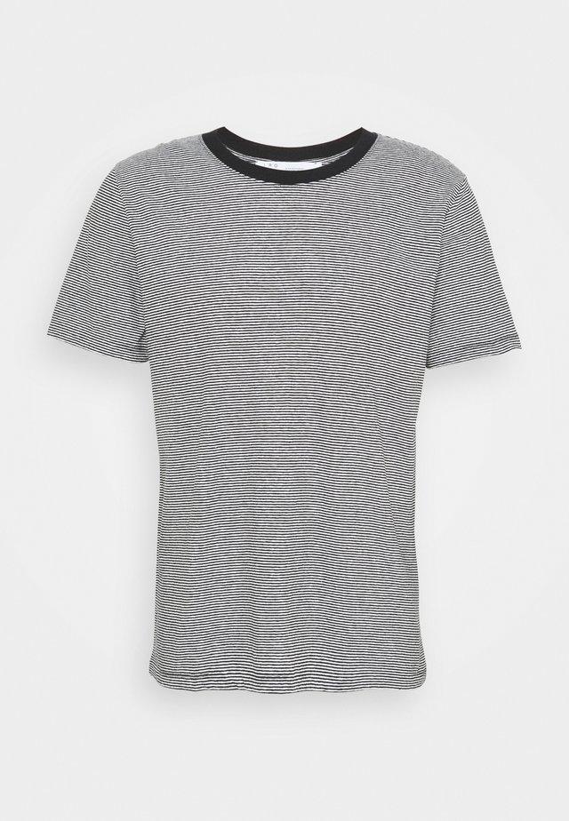 TAYLER - T-shirts print - black/white