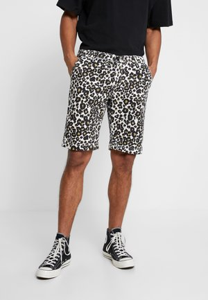 STRETCH - Shorts - white leo