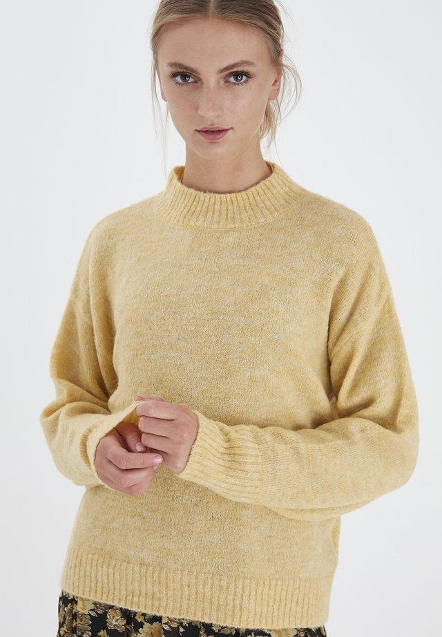 IHAMARA LS - Sweter - jojoba