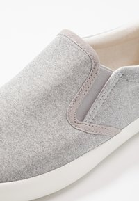 Pier One - UNISEX - Slip-ons - grey - 5